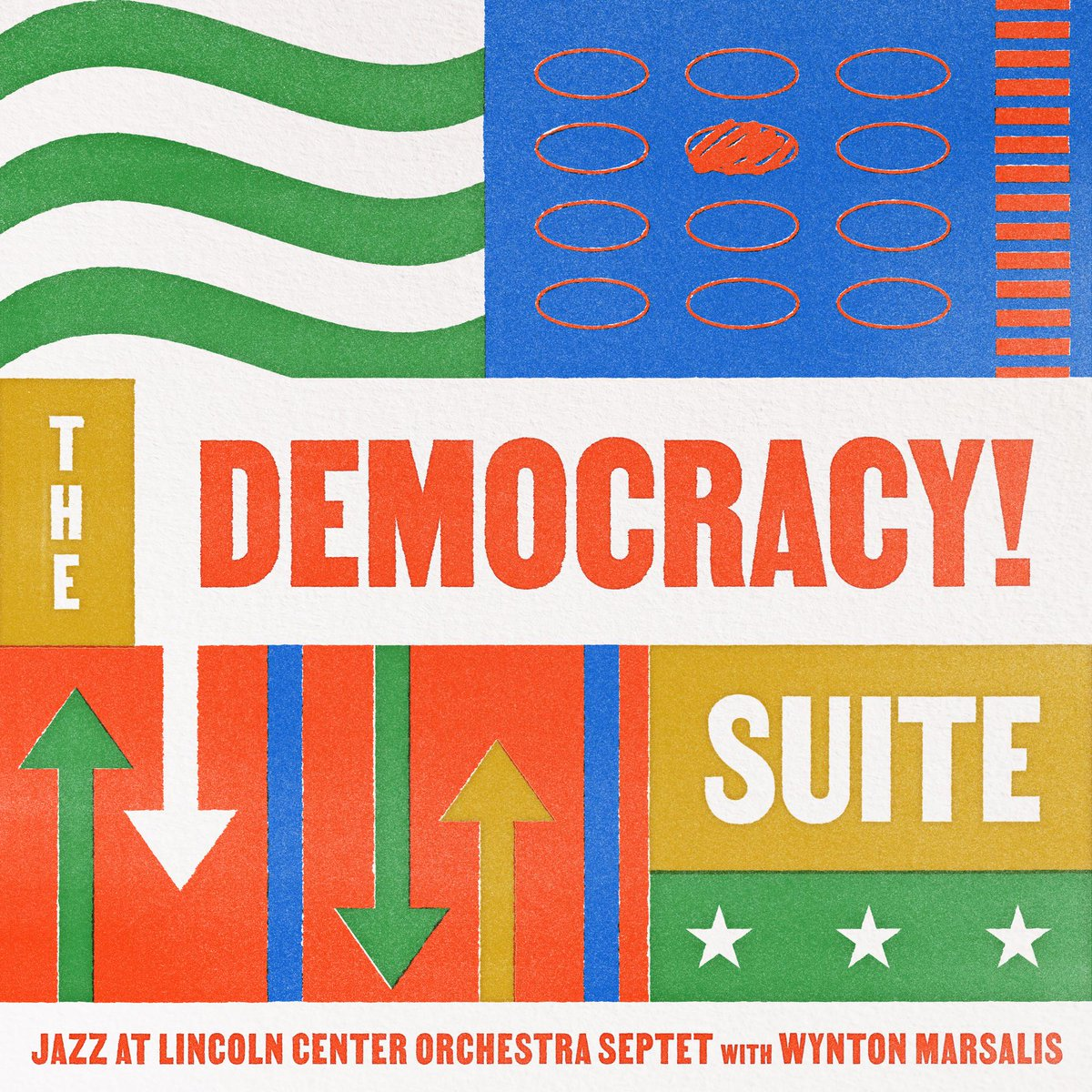 """Jazz music is the perfect metaphor for democracy"" - @wyntonmarsalis.   The Pulitzer Prize-winning composer and musician has been inspired to write a poignant work for the Jazz at Lincoln Center Orchestra - 'The Democracy! Suite.'   Via @BlueEngineJazz"
