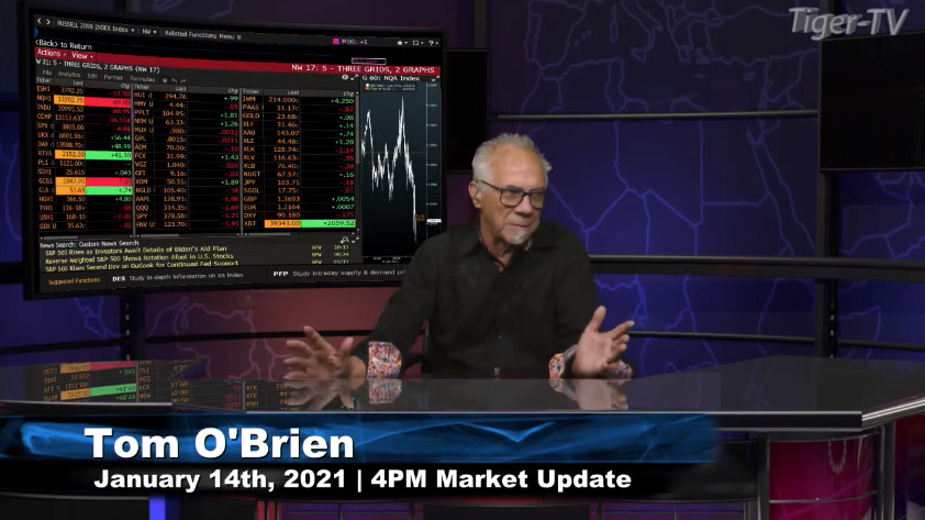 Tom O'Brien hosts the 4PM Market News Update for Thursday on @TFNN and discussed $QQQ $JPM and more! #Learntotrade #TFNN #StockMarketNews #Financialeducation #TradingView #ThursdayThoughts #MarketInsights #TheGoldReport