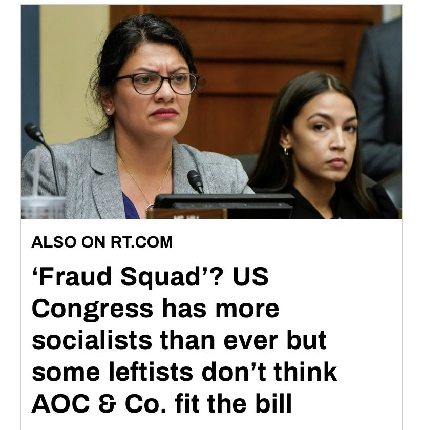 AOC is a one of the props the #DemonCrats keep on hand to incite racial discontent.  While racism has definitely come to exists, it has no legs without being propped up by #LeftistFascist aided by #MSM https://t.co/jm4AiiUS0Q https://t.co/M3HSV8Ad2U