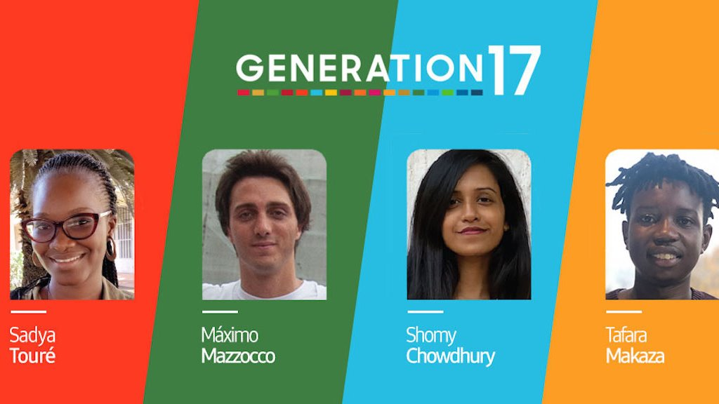 Committed to promoting young people's role as agents of change, @SamsungMobile + @UNDP partnership via #Generation17 is supporting 4 inspiring sustainable dev advocates to mobilize communities towards transformative action & change. Visit  #SamsungUnpacked