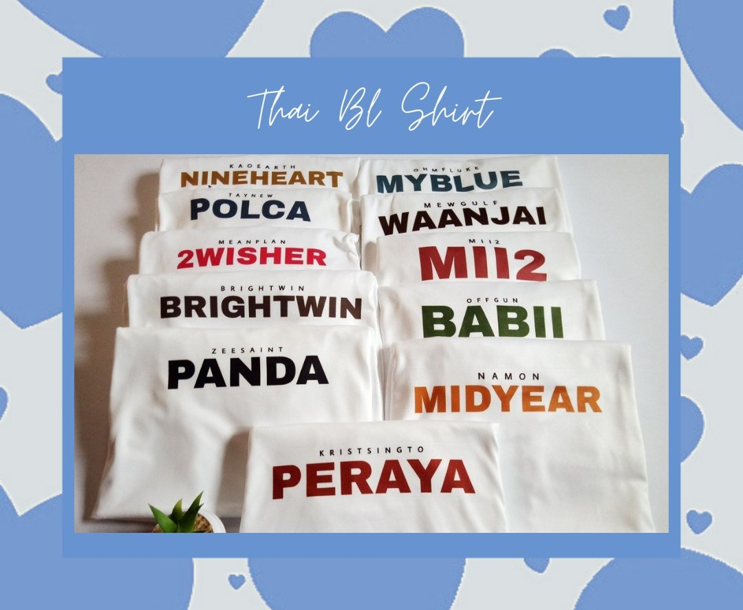 OPENING SURPRISE GIVEAWAY DAY 4!  🛒💙  1 WINNER OF THAI BL COUPLE SHIRT👬  Mechanics: -follow us -like and rt -tag 3 or more friends + (hashtag of your fave ship e.g. #BrightWin) + #AddtoHeartPHGiveaways #Kapuso -ends today!!  The winner will shoulder the LSF😊  Ctto