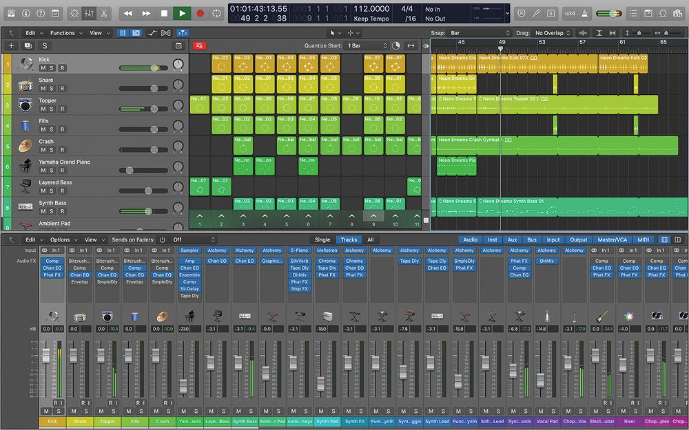 it's world #LogicDay and to celebrate i'm recording music on my Mac with Logic. different Logic, same inspiration