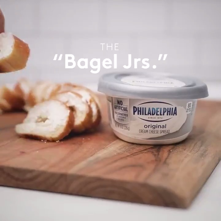 We think that everyone can agree that on #NationalBagelDay, there is no wrong way to eat a bagel as long as it has Philly.  But that's a mouthful, so #TINWWTEABALAIHP it is.