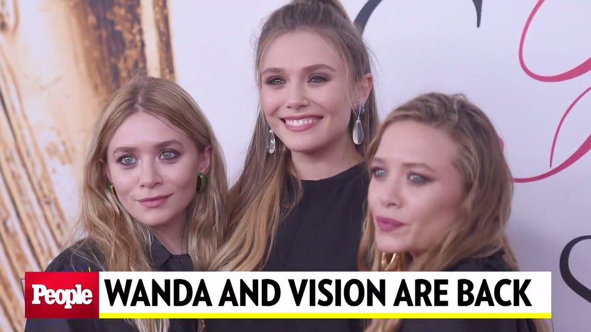 Elizabeth Olsen Teases #WandaVision 'Might' Pay Homage to Mary-Kate & Ashley's Sitcom Full House #PEOPLEtheTVShow