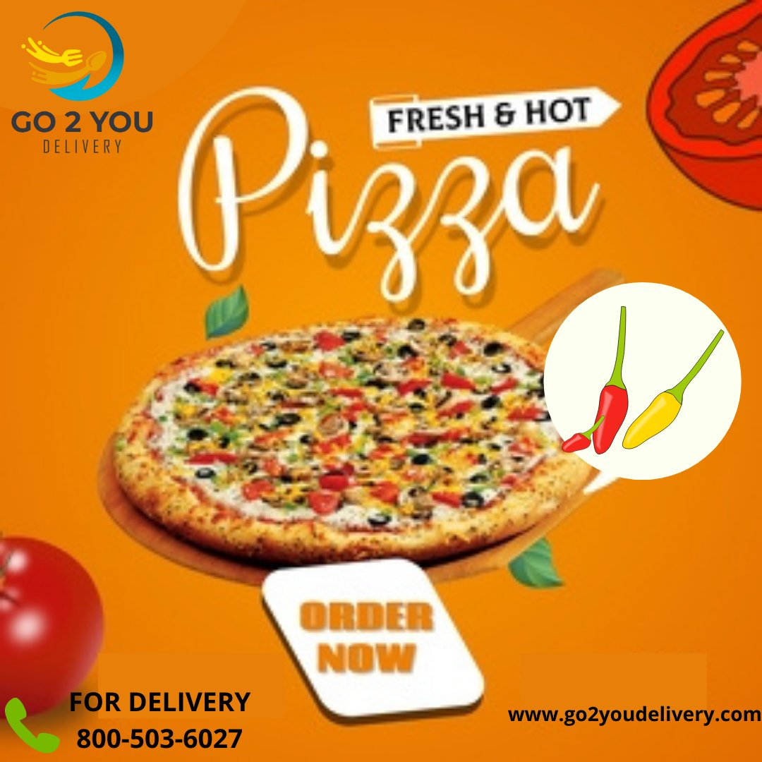 ORDER FRESH & HOT PIZZA!   #pizza #food  #pizzalover #pizzatime #foodie #instafood #delivery #italianfood #pasta #pizzeria #pizzalovers #yummy #foodphotography #foodblogger #foodlover #foodstagram #delicious #pizzaria #love #instagood #dinner #restaurant