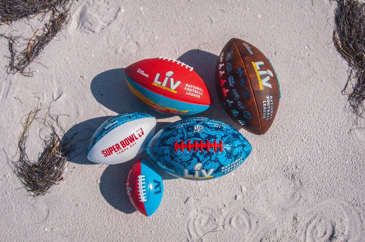 At the center of the biggest stage in the game, we're still bringing it just like every other day. Check out all of our SBLV products by tapping the link below! #wilsonfootball #SBLV  ➡️: