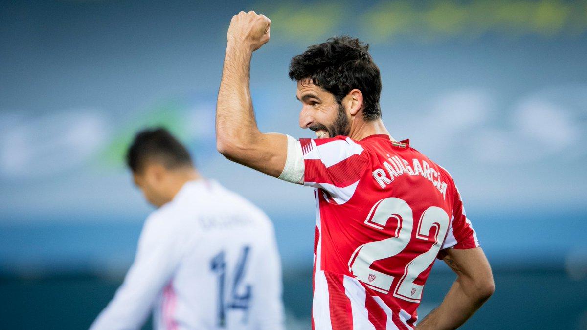 "🎙️ Raúl García, double goalscorer in #RealMadridAthletic:  🗣️ ""We believe we can win the #Supercopa.""   #BiziAmetsa 💭 #AthleticClub 🦁"
