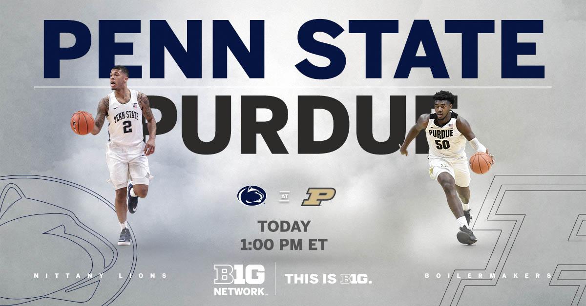 🏀 𝗧𝗢𝗗𝗔𝗬.  𝗕𝗢𝗜𝗟𝗘𝗥𝗠𝗔𝗞𝗘𝗥𝗦. 𝗡𝗜𝗧𝗧𝗔𝗡𝗬 𝗟𝗜𝗢𝗡𝗦.  𝟭 𝗣𝗠 𝗘𝗧 Penn State at Purdue   📺 Watch on Big Ten Network 📱 Stream on the FOX Sports App https://t.co/mrTPTEKpRZ