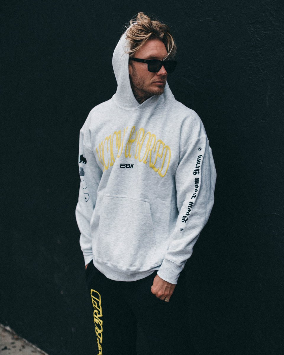 our VICIOUS & BORED collection is now live! Been wearing this for two months straight - by far the best drop!   Get it here: