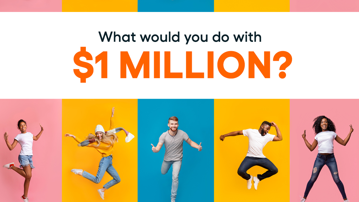 Tell us what you'd do with $1 million if you won the grand prize in our Orlando dream house giveaway—the winner gets to pick between the house and cash. Then enter for a chance to win:   #omaze #cashgiveaway #OmazeDreamHouse