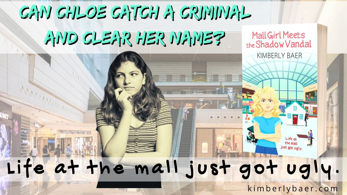 Can Chloe catch a criminal and clear her name? MALL GIRL MEETS THE SHADOW VANDAL is coming soon from the Wild Rose Press!    #middlegrade #mystery #fiction #books #comingsoon #wrpbks