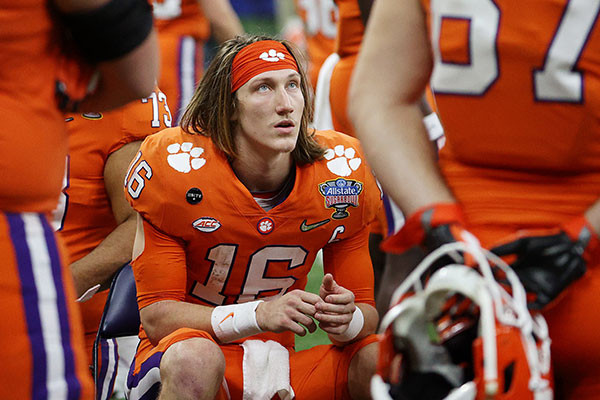 @nypost's photo on Trevor Lawrence