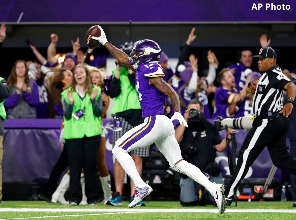 "Three years ago today, Vikings QB Case Keenum launched a pass down the right sideline to Stefon Diggs, who not only caught the ball, but took it in for a game-winning TD. The ""Minneapolis Miracle."" Is this the most memorable play in MN sports history?"