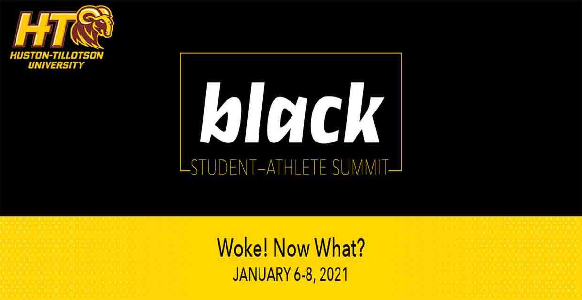 #fRAMily Huston-Tillotson University Student-Athletes & Athletic Staffers Participate in Black Student-Athlete Summit. Read all about it here  #RamUp #HTisIDEAL #GeniusGeneration #MyHBCU