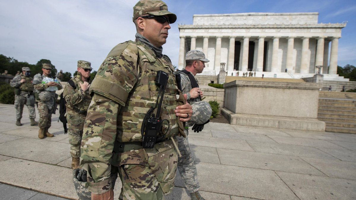 National Guard deployment to DC for the presidential inauguration on January 20th is now up to 21,000 troops, NGB head said during inauguration security briefing with VP Mike Pence