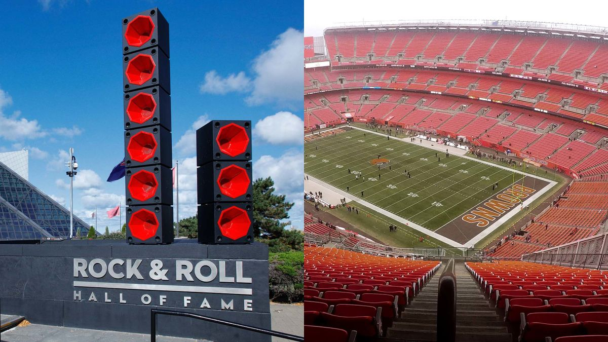 The Best Cities To Live In For Fans Of Rock And Roll Museums And The Cleveland Browns
