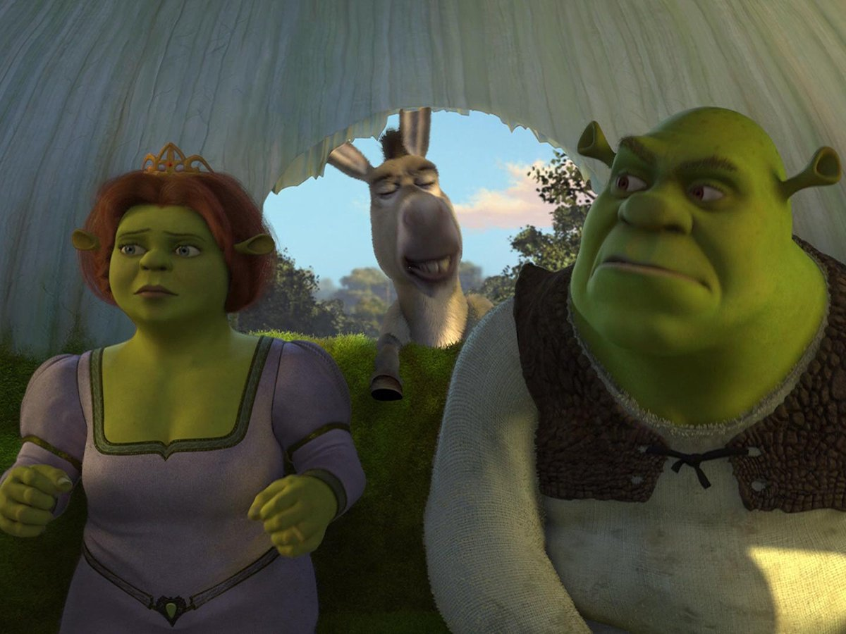 🎶And you're probably with that blonde girl Who always made me doubt She's so much older than me She's everything I'm insecure about🎶  shrek 2, same time next week? #R29MovieClub