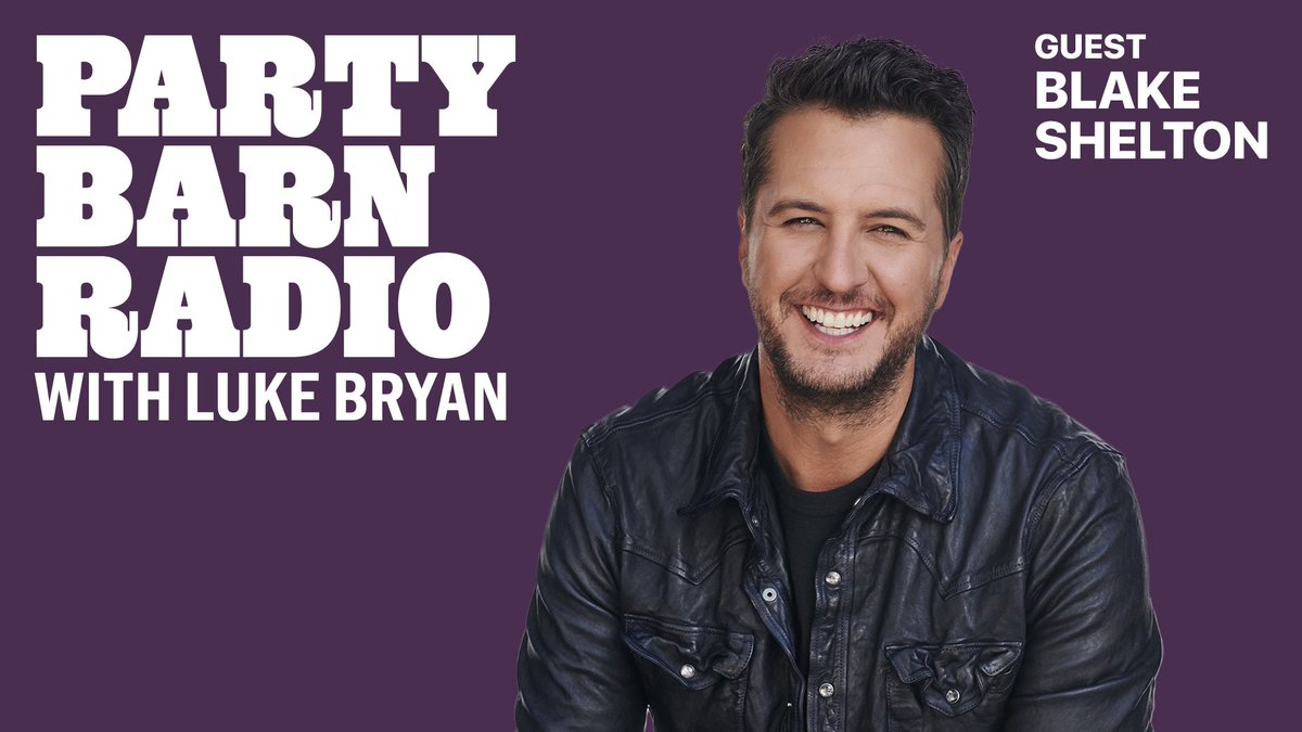 Joined my buddy @lukebryanonline for a brand new season of Party Barn Radio.. out now on @AppleMusic!