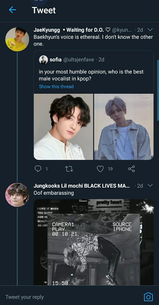 Why do they expect everyone knows their faves? is it my fault if I didnt know anyone from that grp? I am not obsessing with other groups like you obsessing with exo. 🙄