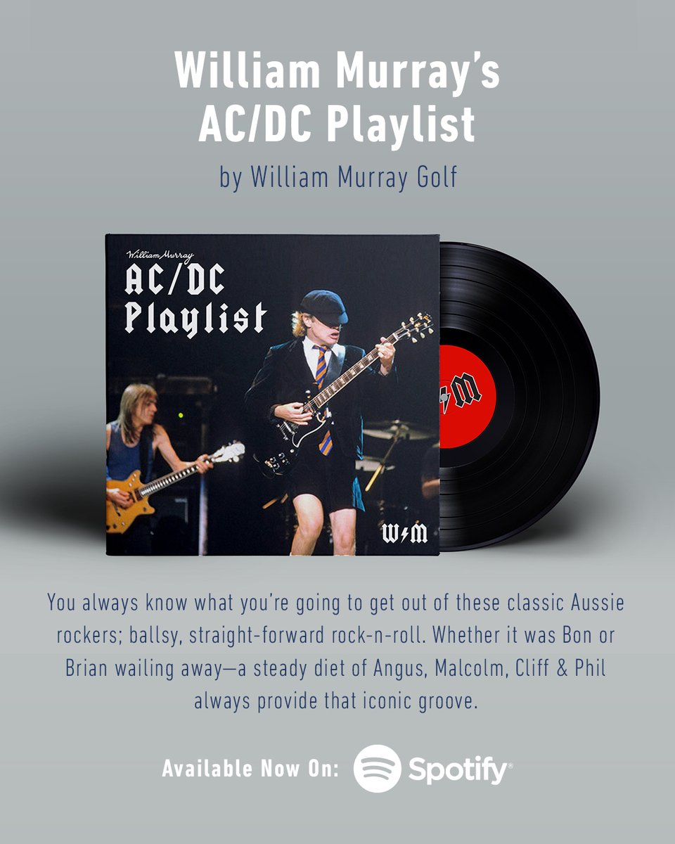 A little something to give that road trip some extra pep, or workout an extra step—@ACDC always scratches that itch.  Another rockin' WMG playlist for your listening pleasure on @Spotify. Crank this one up to 11 and let 'em hear you two fairways over.  https://t.co/DfB3F2fA9C https://t.co/zNYmLVHxoO