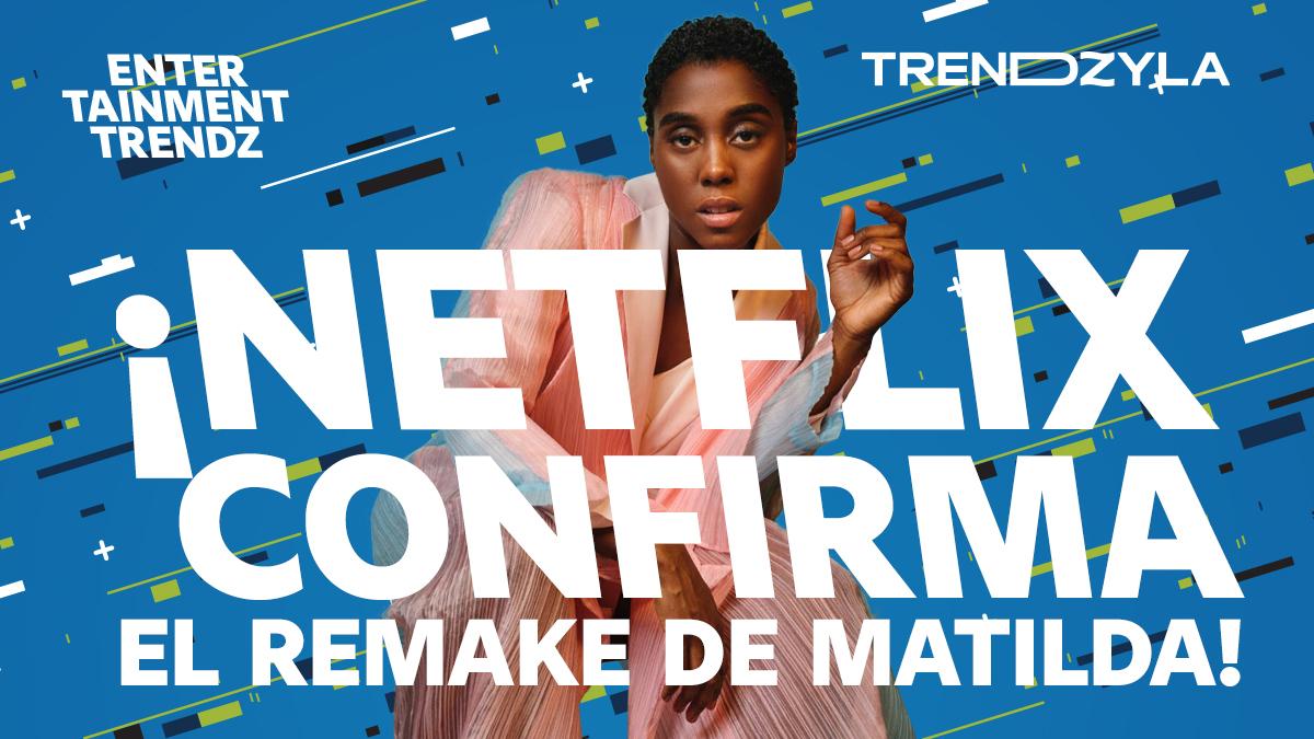 #Matilda, la popular película de 1996, tendrá una nueva versión ahora bajo el sello de #Netflix y en formato de musical. Ya se confirmó que #LashanaLynch interpretará a Miel, la adorable maestra de Matilda y la malvada Tronchatoro será #RalphFiennes. #EntertainmentTrendz