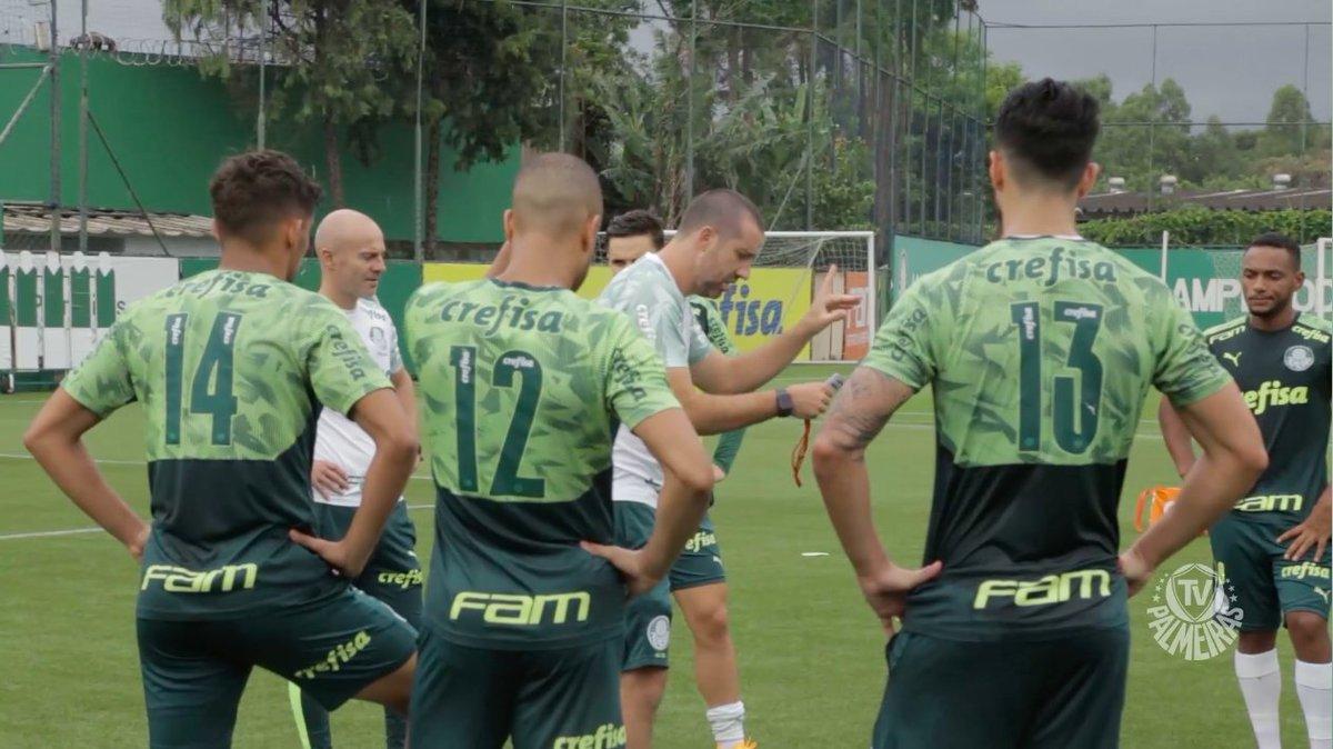 Prontos para mais um desafio no Allianz Parque! 👊  Confira a íntegra na TV Palmeiras/FAM ➤   #AvantiPalestra