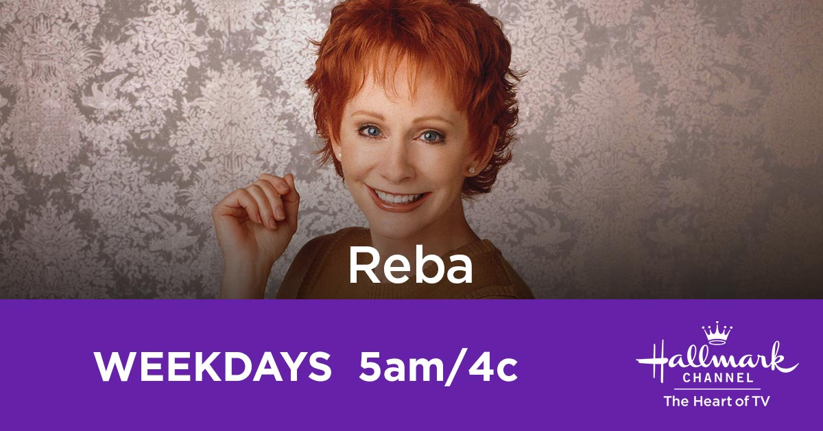 #Hallmarkies: It's time to head to the heart of Texas with @reba and her fun family. Watch #Reba on weekdays starting at 5am/4c!