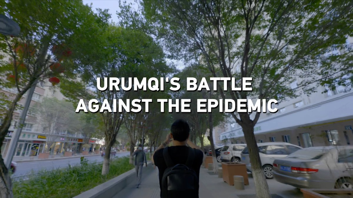 #Urumqi's battle against COVID-19 epidemic.  A documentary filmmaker captured the daily lives of locals in the capital city of #Xinjiang during those tumultuous times.