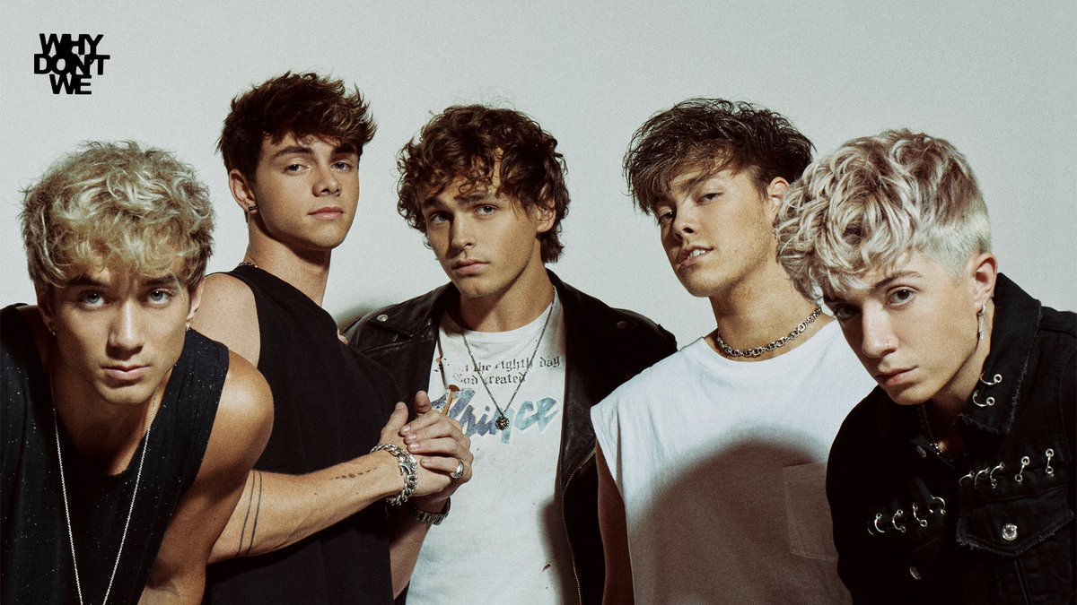 It's my second release of album with @whydontwemusic . They've changed and they're chasing their dreams.. Guys, I'm proud of you and it's beautiful what are you doing for me. You've changed my life to THE GOOD TIMES and helped me threw THE BAD ONES away ❤️ #TGTATBO