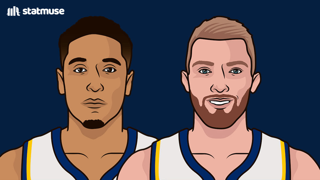 Brogdon and Sabonis are one of the best duos in the league this season.  Brogdon: 23 PPG, 7 APG, 46 3P%  Sabonis: 22 PPG, 13 RPG, 6 APG  All career-highs. https://t.co/42OqHvDUbS