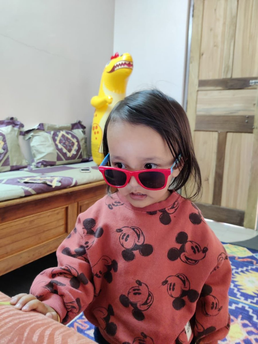 Belated birthday wishes to 2 year old Nirvan Pandey! @litsticker