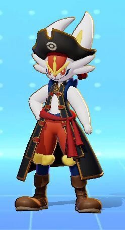 Pokémon Unite will feature costumes for characters, the first of which can be seen in the leaked photos below