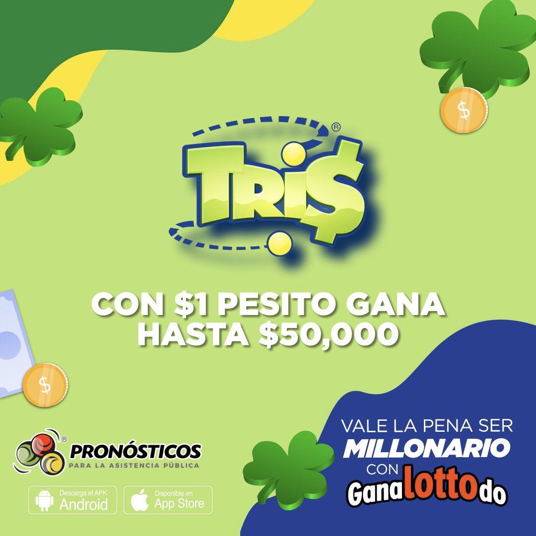 Con un pesito puedes ganar hasta $5️⃣0️⃣,0️⃣0️⃣0️⃣ 😱😱 Recuerda qué hay 5 sorteos diarios de #Tris 🍀🍀 Participa aquí 👉👉 https://t.co/ji5ZfNeLYP https://t.co/QDMIlHfZop