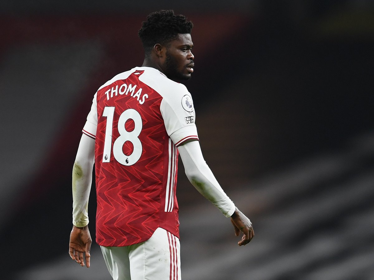 Great to see you back out there last night, @ThomasPartey22 ❤️