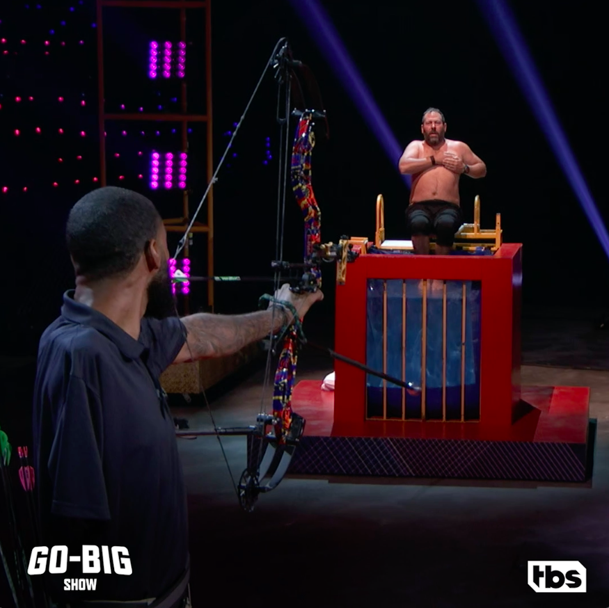Replying to @GoBigShowTBS: The emoji @BertKreischer is trying to avoid right now: 💘. #GoBigShow