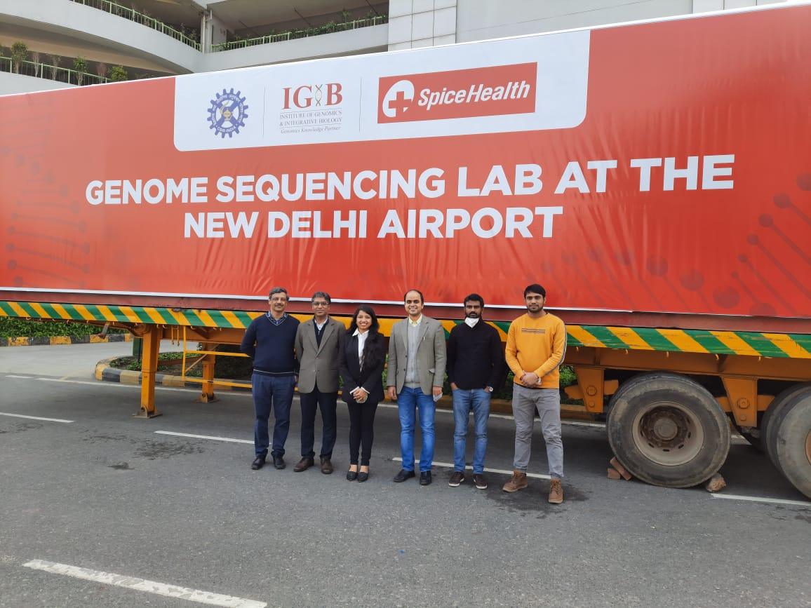 #Greatlaunch #labonwheel #trackandstopspread #Coronavirusgenome #NGS  Many Congratulations @CSIR_IND @shekhar_mande #TeamIGIB @AnuragAgrawalMD  @drharshvardhan @PMOIndia @PIB_India @kvijayraghavan @AAI_Official @spice_health