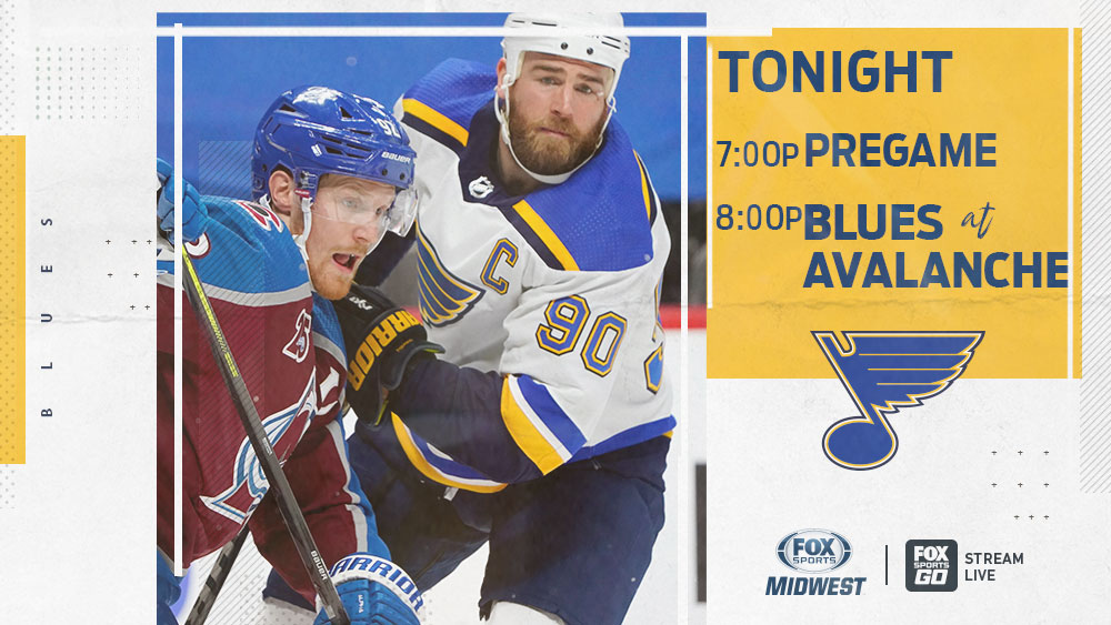 Game No. 2, looking for win No. 2. Special one-hour pregame at 7. #stlblues