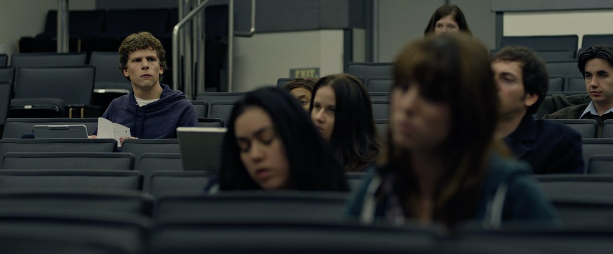 THE SOCIAL NETWORK (2010)  Cinematography by Jeff Cronenweth Directed by David Fincher Explore a list of this cinematographer's other perfect shots: