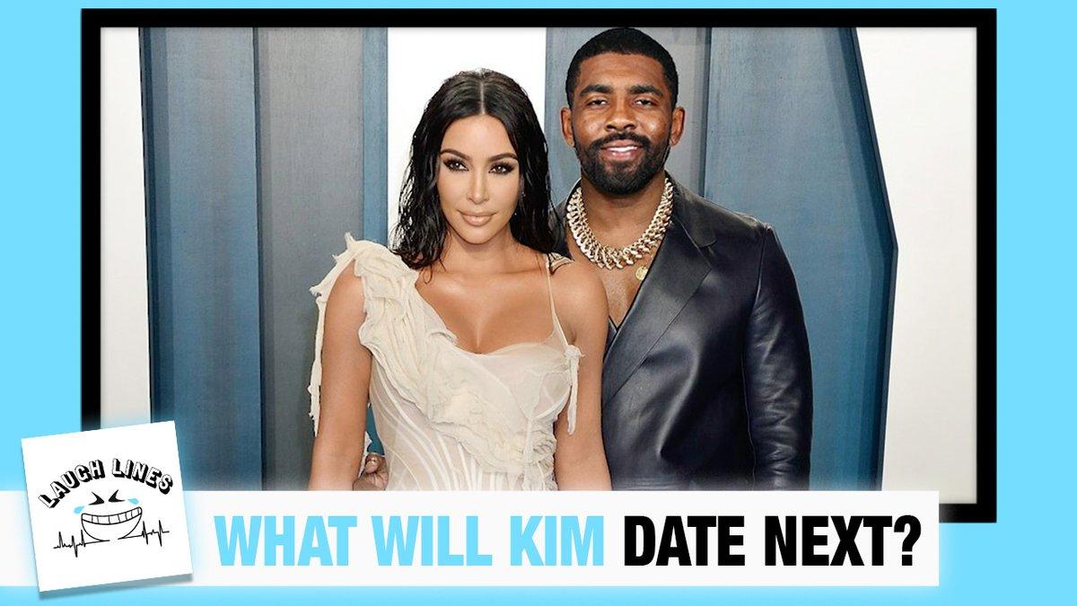It's not a question of who Kim Kardashian will date next, but WHAT she will date next!   #LaughLines @TheCousinSal @RachelBonnetta @Gabrus