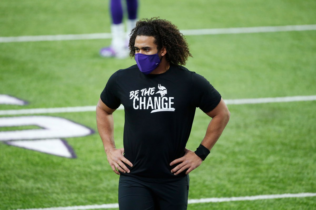 .@EricKendricks54:   - @Vikings Walter Payton Man of the Year  - Key supporter of @allsquarempls which helps to reduce recidivism - Member of the Vikings Social Justice Committee where he & his teammates support social justice causes in their community