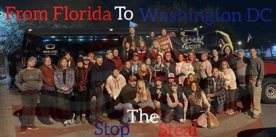 Replying to @DWUhlfelderLaw: Who paid for the nice buses from Northwest Florida to Washington, DC on January 6, 2021