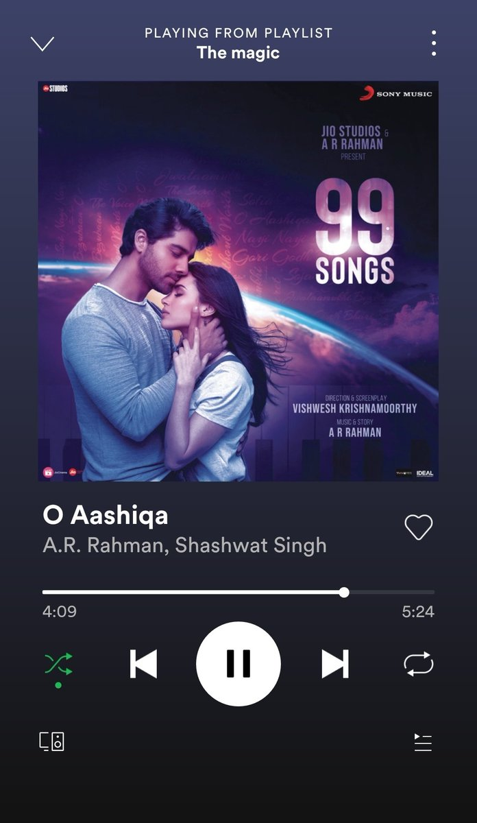 #99songs @arrahman 🔥🔥🔥ee songs ki hype rakapovadham ento ee north gallu remix Lu aa vintaru emo
