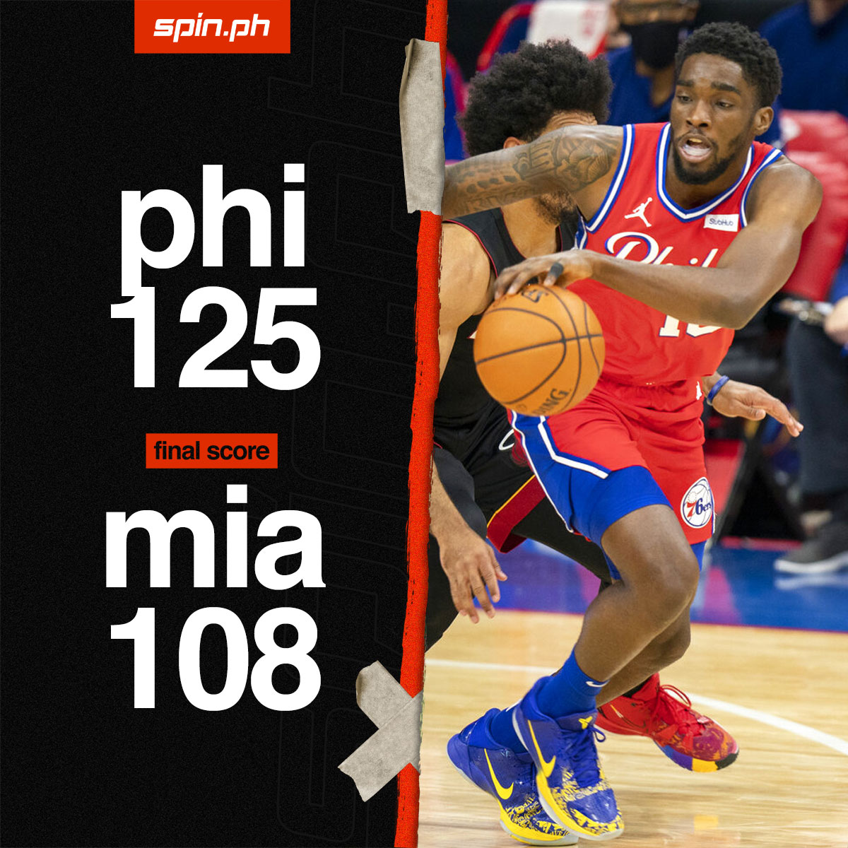 Shake Milton drops 31 off the bench as 76ers make it back-to-back wins vs Heat  #ReadMore >> https://t.co/RlWc556Xpp https://t.co/A8zVazT0Ee