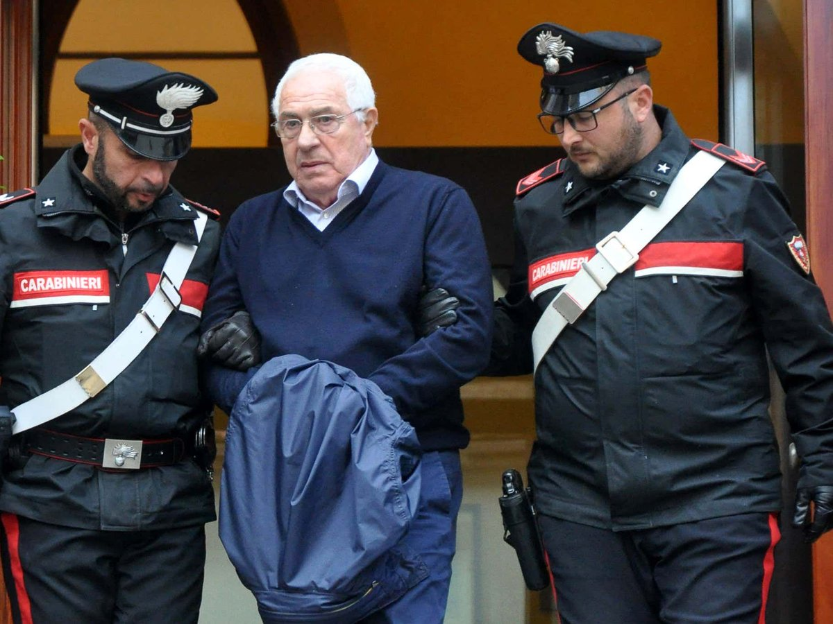 One Of The Biggest Mafia Trials Of All Time Kicked Off Yesterday As The Head Of Italy's Most Powerful Crime Family, Responsible For 80% Of Europe's Cocaine, And 330 Of His Associates Face Trial