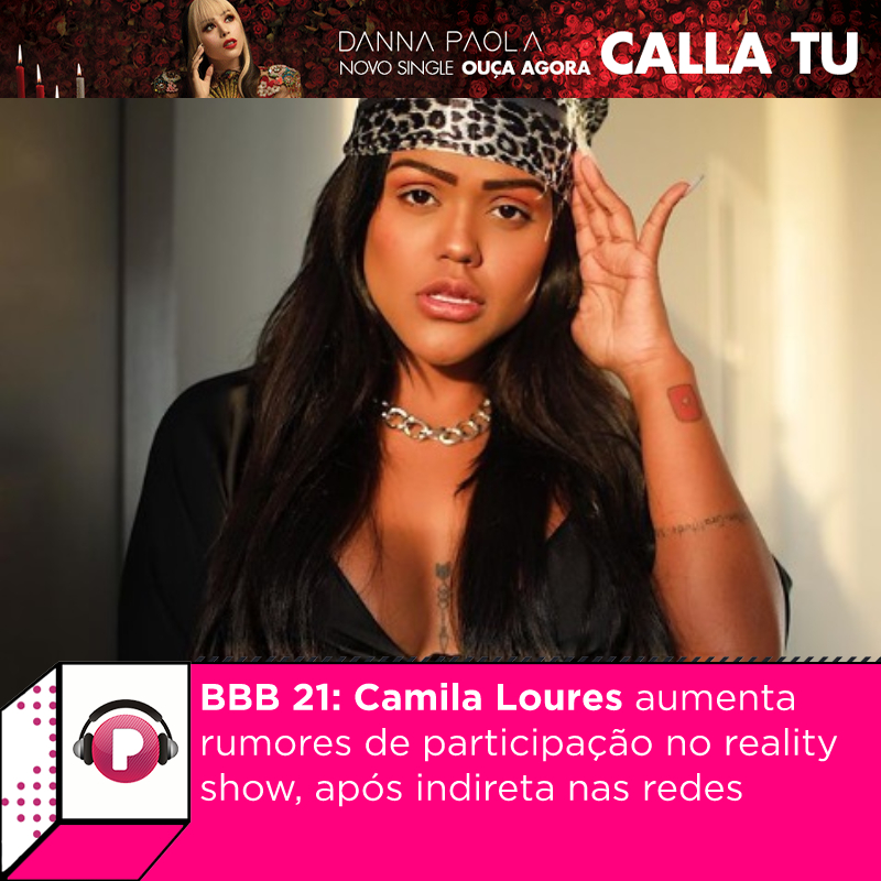"""A youtuber #CamilaLoures tem sido um dos nomes cotados para o grupo Camarote do """"#BBB21. Nesta quinta-feira, a jovem colocou ainda mias lenha na fogueira, ao anunciar que irá diminuir a frequência de vídeos em seu canal no Youtube.  Será?"""