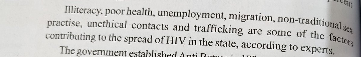 How poor health,illiteracy n migration spread HIV ??!! Explain logically if u can ! 8th std #Textbook
