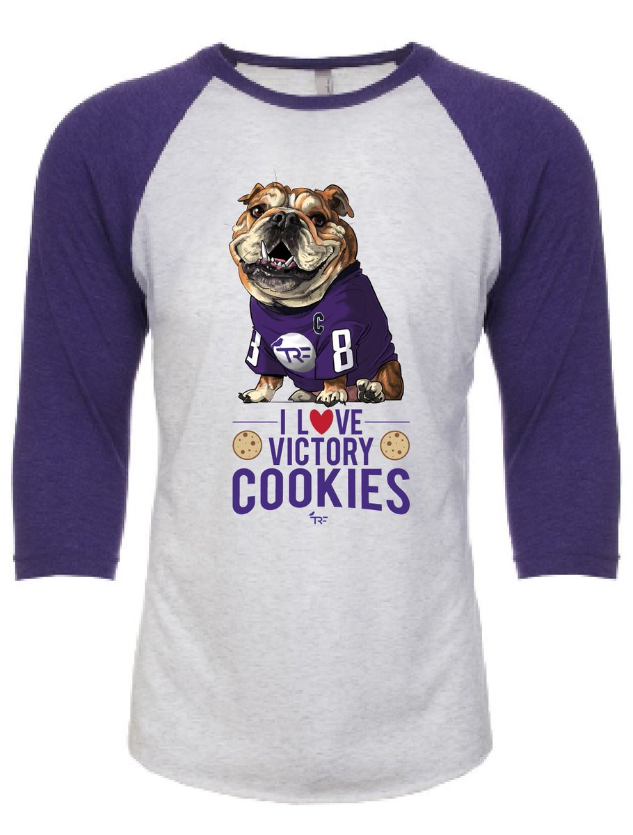 "@OvietheBulldog You can purchase your own @OvietheBulldog  ""I L❤️VE VICTORY COOKIES"" shirt!  Help support @TRFdotORG and pediatric cancer patients! Purchase:  #SlayCancerWithDragons"