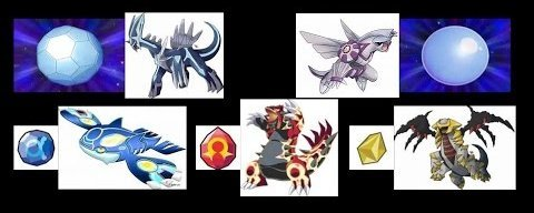 Isn't it weird that Dialga and Palkia can't change forms when they hold their orbs while other legendaries can. Maybe things will be different soon 👀