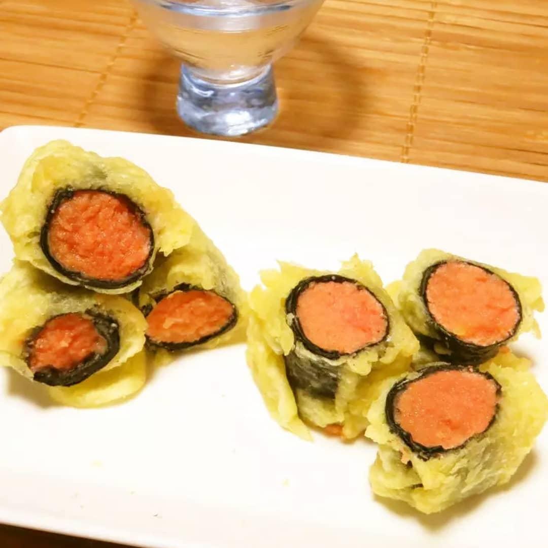 クックパッドの私のレシピをご紹介♪☺おつまみに☆簡単和食♪たらこの天ぷら☺ by hirokoh#料理好きな人と繋がりたい#Twitter家庭料理部 #お腹ペコリン部#YouTube#hirokohのおだいどこ#クックパッド #cookpad#おつまみ #おうち飲み #おうち居酒屋 #おうちごはん