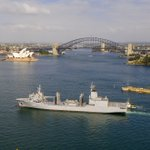 The first of two NUSHIP Supply ships has arrived in Sydney, marking the beginning of a new capability for the #AusNavy. The ships are part of the Gov's $183 bn Naval Shipbuilding Plan & will provide operational support to deployed personnel who are far from ports for long periods